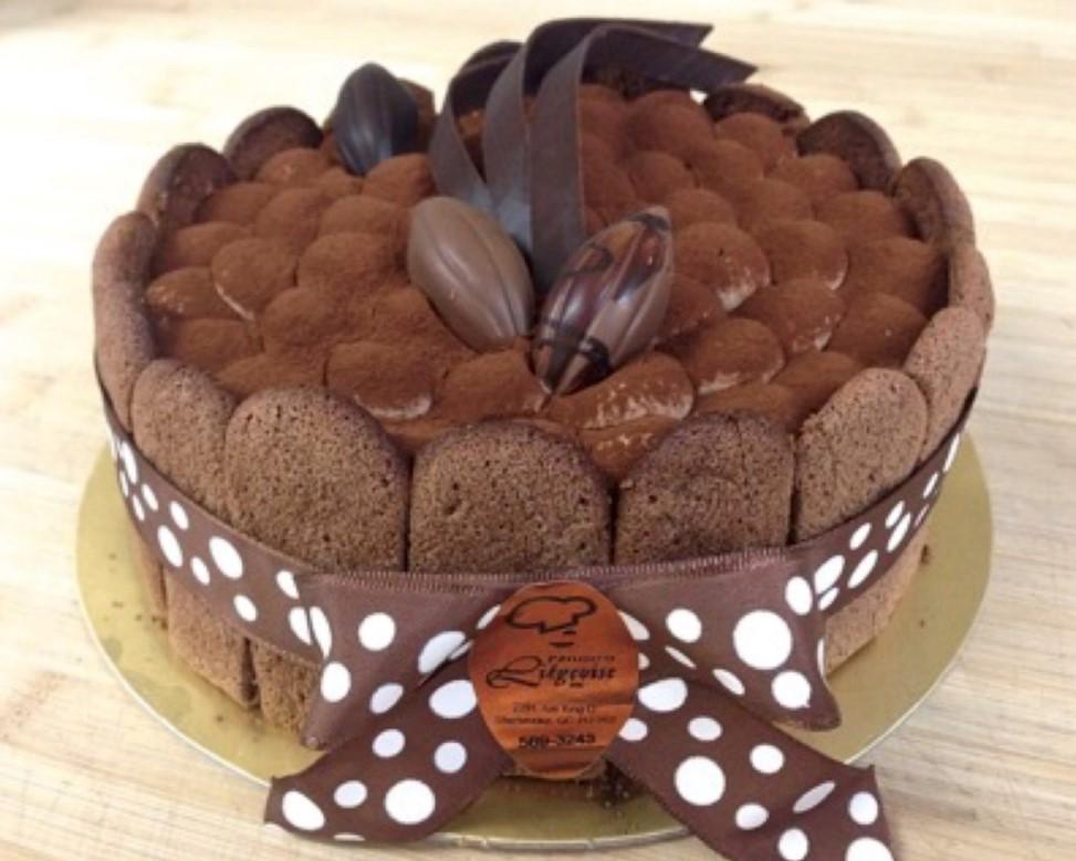 gateau charlotte au chocolat patisserie la liegeoise sherbrooke