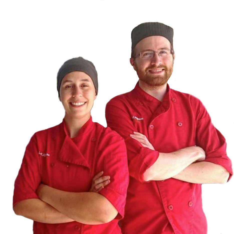 Virgnie Gaudreau et Simon Nicolau, les propriétaires actuels de la pâtisserie