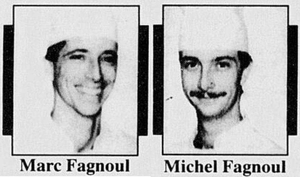 Les fils de Georges Fagnoul, Marc et Michel